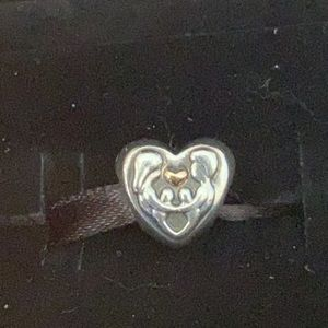 Pandora Heart of The Family Sterling & 14KG Bead